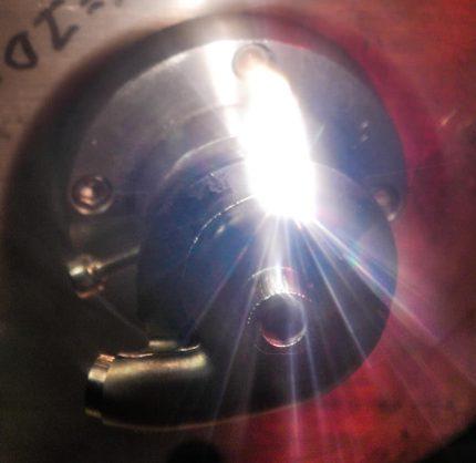Laser Weld Burst